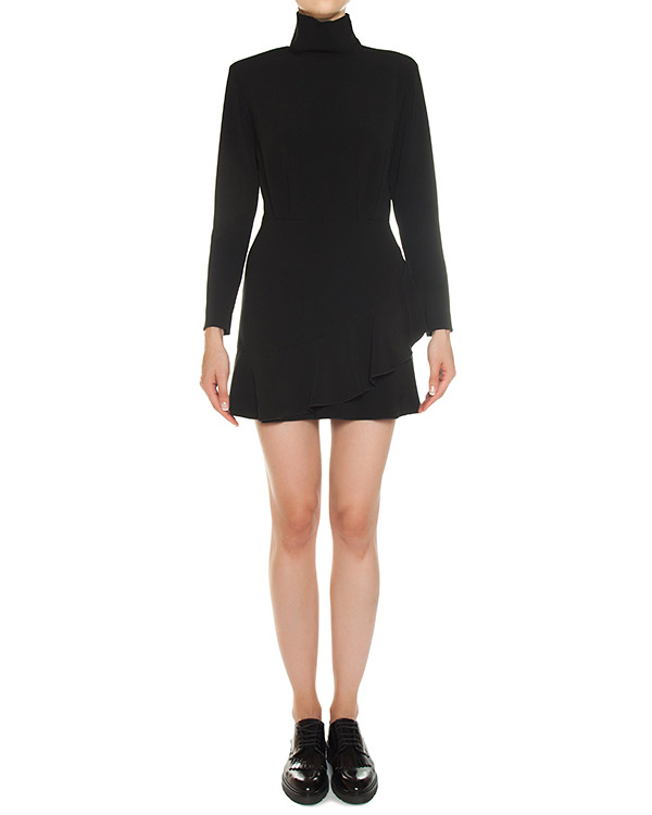 платье мини из вискозы артикул A716 марки DONDUP купить за 32900 руб.