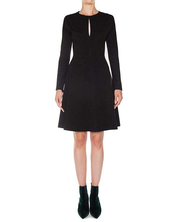 платье из трикотажной вискозы приталенного силуэта артикул A755 марки DONDUP купить за 40900 руб.