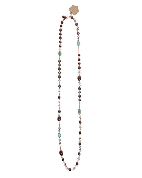 бусы из природных полудрагоценных камней артикул AD081/15R марки Rocca Florentina купить за 30000 руб.
