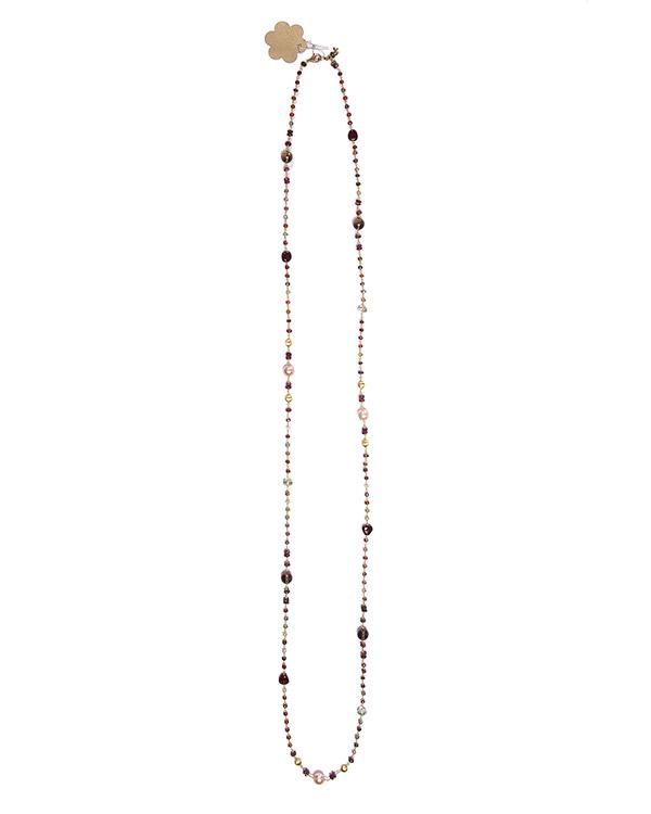 бусы из полудрагоценных натуральных камней артикул AD083/15G марки Rocca Florentina купить за 24000 руб.