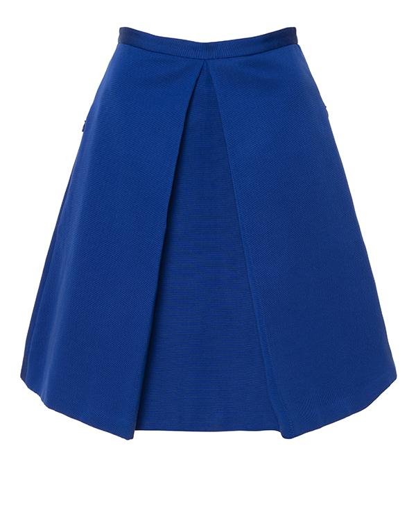 юбка с посадкой на талии и боковыми прорезными карманами артикул AF53300 марки TIBI купить за 12200 руб.