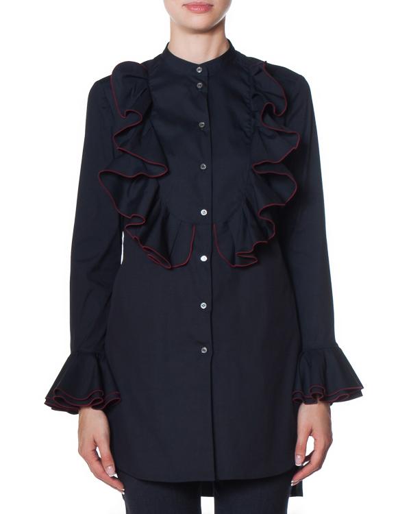 рубашка с удлиненной линией спины артикул AG1005 марки Mantu купить за 34000 руб.