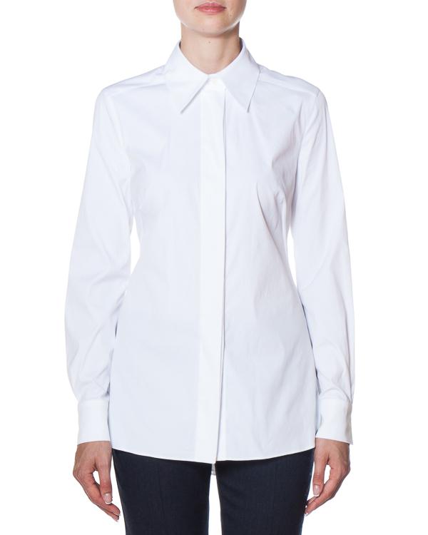 рубашка с удлиненной линией спины артикул AG1015 марки Mantu купить за 27400 руб.
