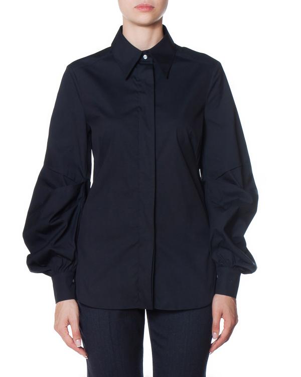 рубашка из хлопка с объемными рукавами артикул AG1022 марки Mantu купить за 26900 руб.