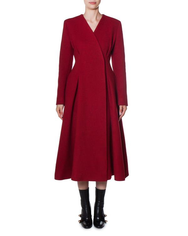пальто из плотной шерсти  артикул AG8012 марки Mantu купить за 78600 руб.