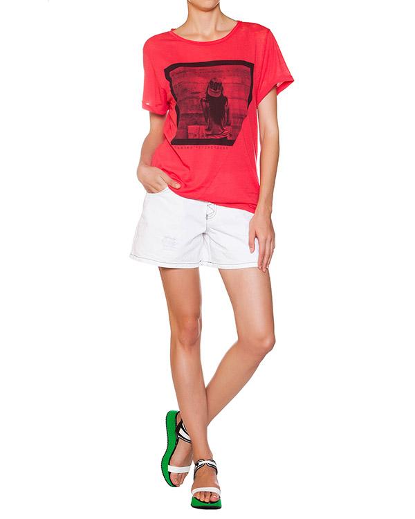 женская футболка EMPORIO ARMANI, сезон: лето 2015. Купить за 3700 руб. | Фото 3