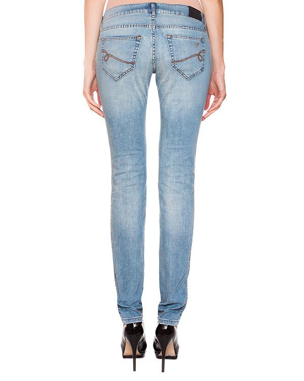 женская джинсы EMPORIO ARMANI, сезон: лето 2015. Купить за 7700 руб. | Фото 2