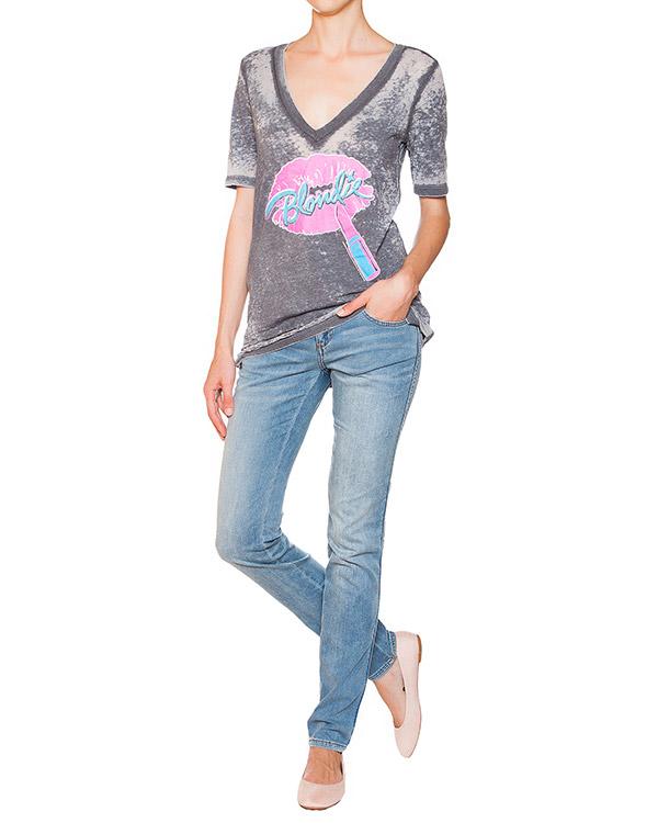 женская джинсы EMPORIO ARMANI, сезон: лето 2015. Купить за 7700 руб. | Фото 3