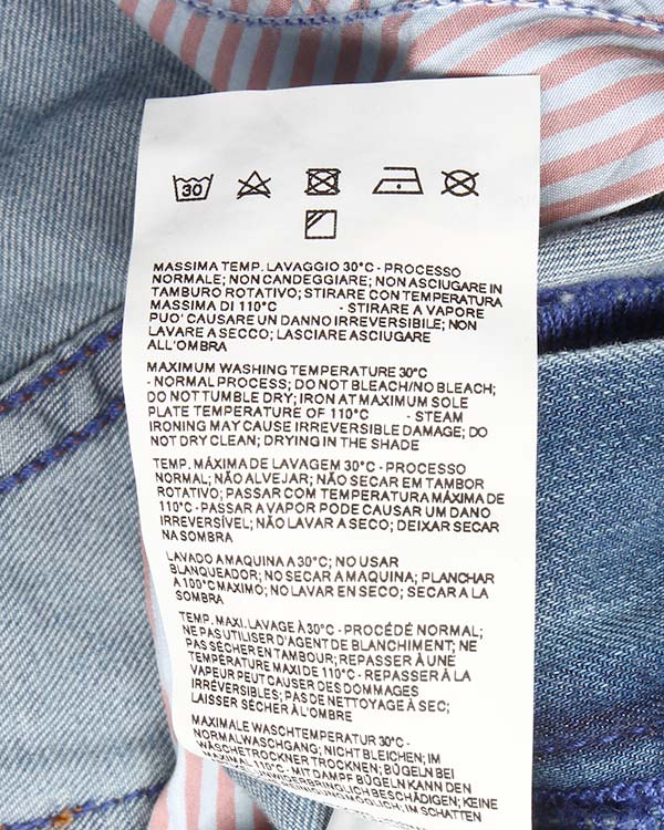 женская джинсы EMPORIO ARMANI, сезон: лето 2015. Купить за 7700 руб. | Фото 5