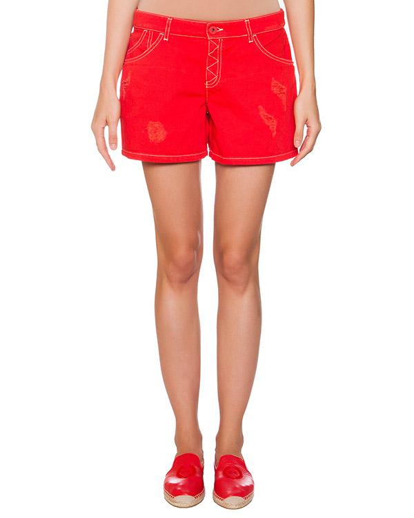 женская шорты EMPORIO ARMANI, сезон: лето 2015. Купить за 9100 руб. | Фото 1