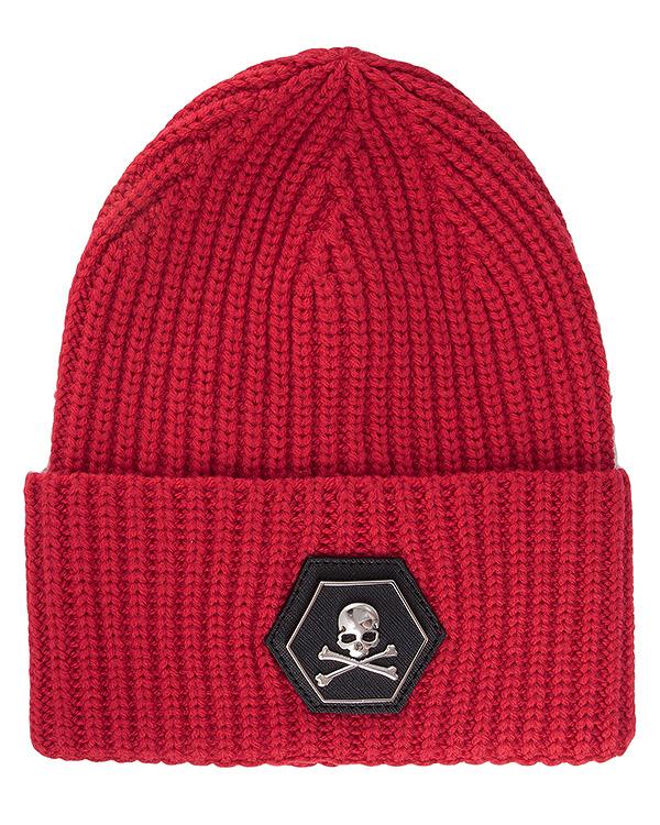 аксессуары шапка PHILIPP PLEIN, сезон: зима 2016/17. Купить за 16100 руб. | Фото 1