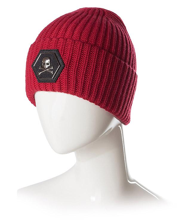 аксессуары шапка PHILIPP PLEIN, сезон: зима 2016/17. Купить за 16100 руб. | Фото 2