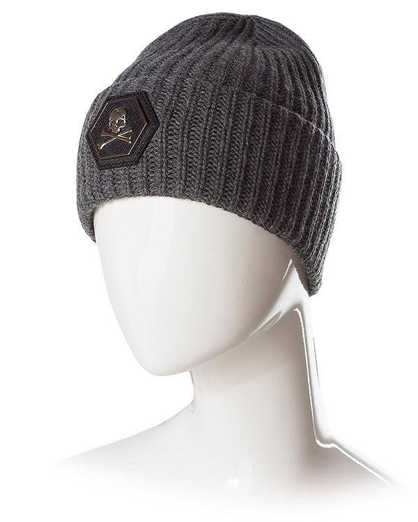 аксессуары шапка PHILIPP PLEIN, сезон: зима 2016/17. Купить за 8100 руб. | Фото 2