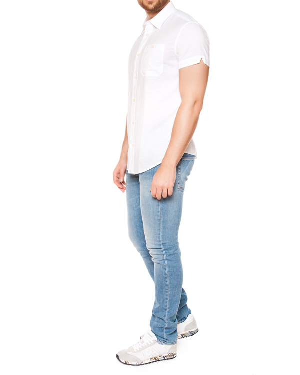 мужская рубашка ARMANI JEANS, сезон: лето 2015. Купить за 7100 руб. | Фото 3