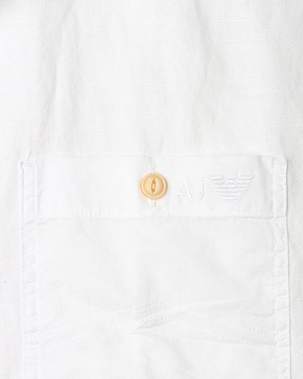 мужская рубашка ARMANI JEANS, сезон: лето 2015. Купить за 7100 руб. | Фото 4