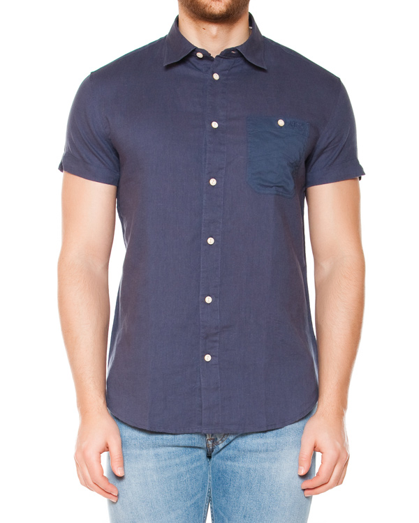 мужская рубашка ARMANI JEANS, сезон: лето 2015. Купить за 5100 руб. | Фото 1
