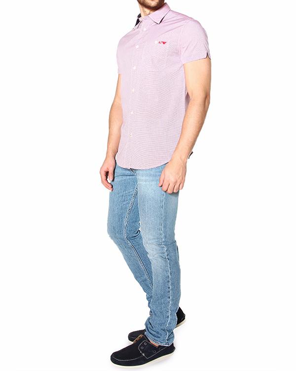 мужская рубашка ARMANI JEANS, сезон: лето 2015. Купить за 5900 руб. | Фото 3