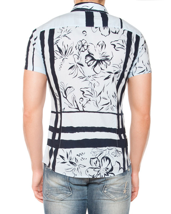 мужская рубашка ARMANI JEANS, сезон: лето 2015. Купить за 4700 руб. | Фото 2