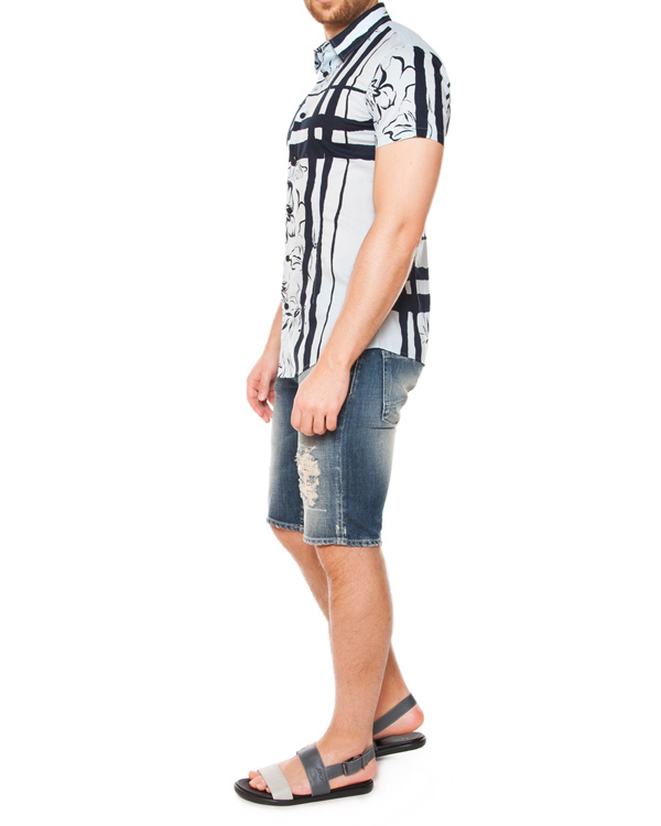 мужская рубашка ARMANI JEANS, сезон: лето 2015. Купить за 4700 руб. | Фото 3