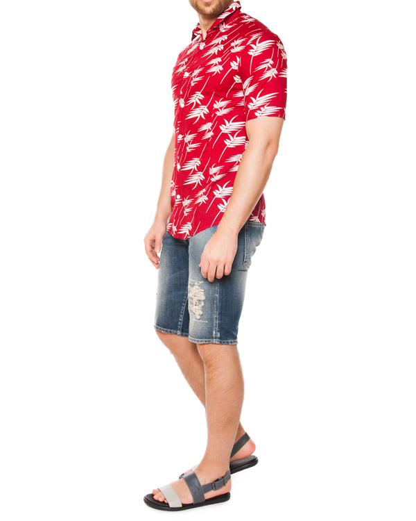 мужская рубашка ARMANI JEANS, сезон: лето 2015. Купить за 4600 руб. | Фото 3