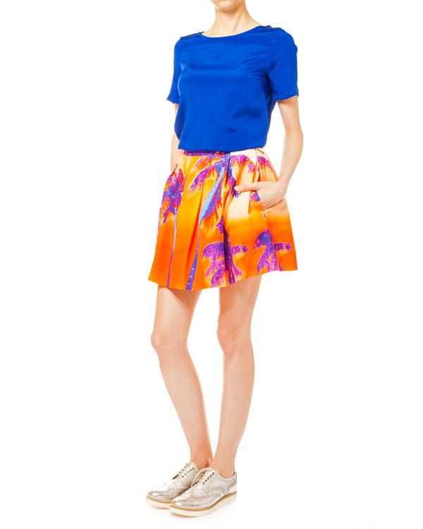 женская юбка P.A.R.O.S.H., сезон: лето 2014. Купить за 12700 руб. | Фото 3