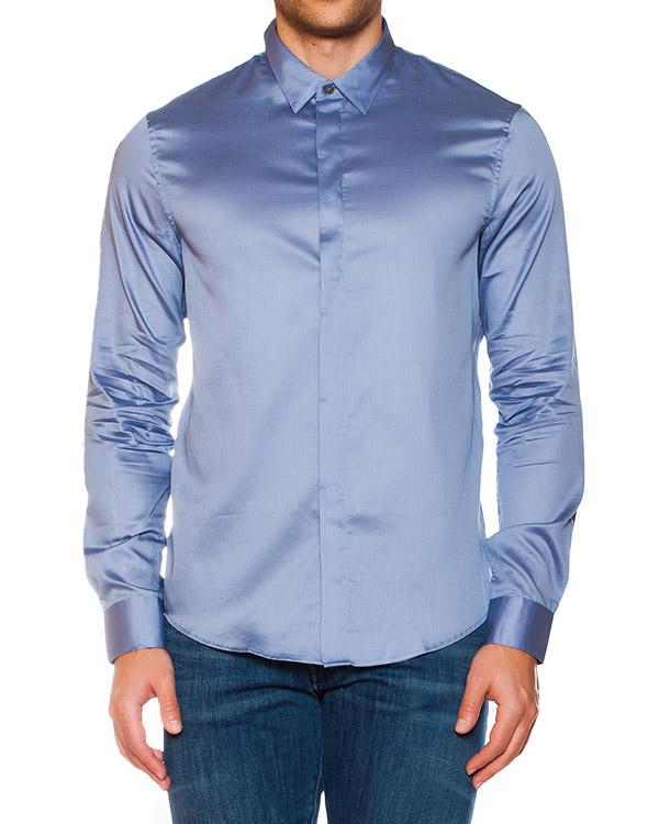 мужская рубашка EMPORIO ARMANI, сезон: лето 2015. Купить за 5600 руб. | Фото 1