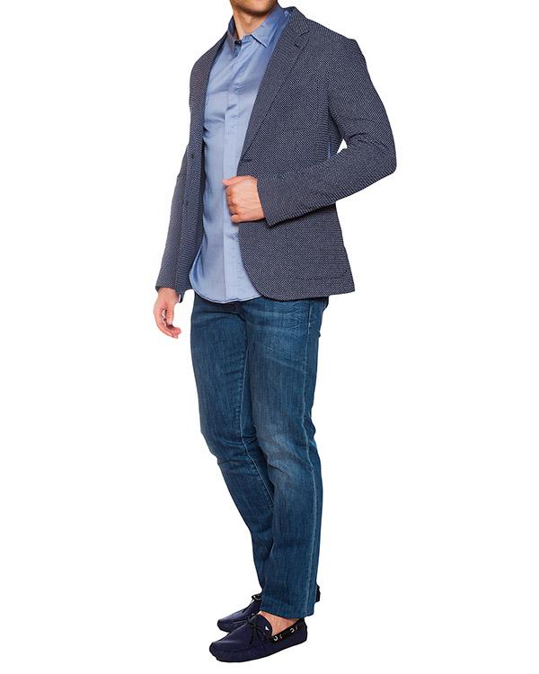 мужская рубашка EMPORIO ARMANI, сезон: лето 2015. Купить за 5600 руб. | Фото 3