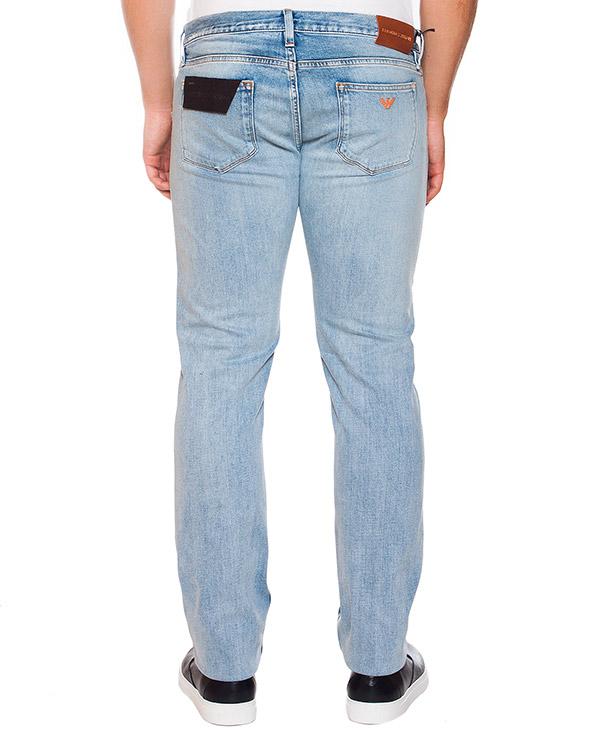 мужская джинсы EMPORIO ARMANI, сезон: лето 2015. Купить за 8100 руб. | Фото 2