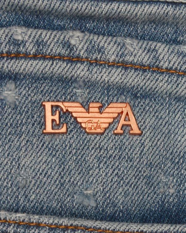 мужская джинсы EMPORIO ARMANI, сезон: лето 2015. Купить за 8100 руб. | Фото 4