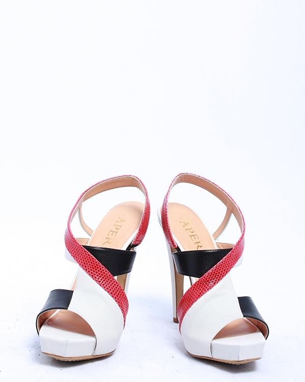 женская босоножки APERLAI, сезон: лето 2012. Купить за 12400 руб.   Фото 1