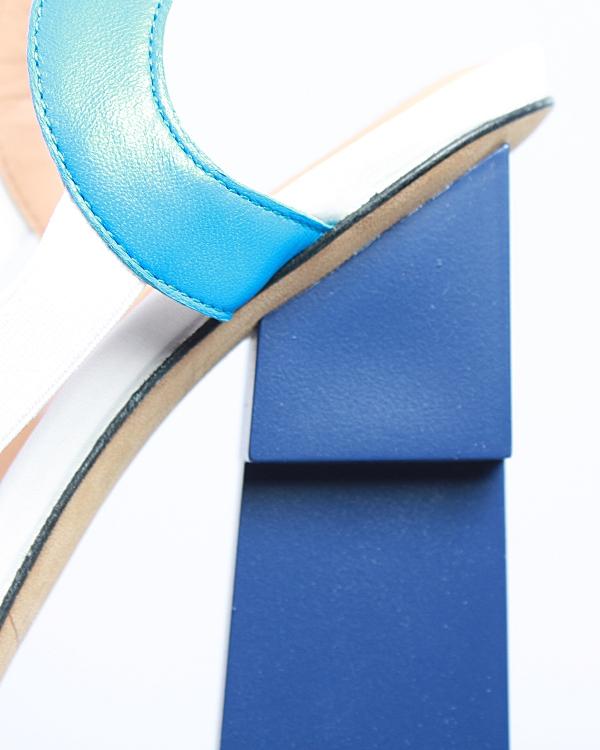женская босоножки APERLAI, сезон: лето 2012. Купить за 13600 руб. | Фото 4