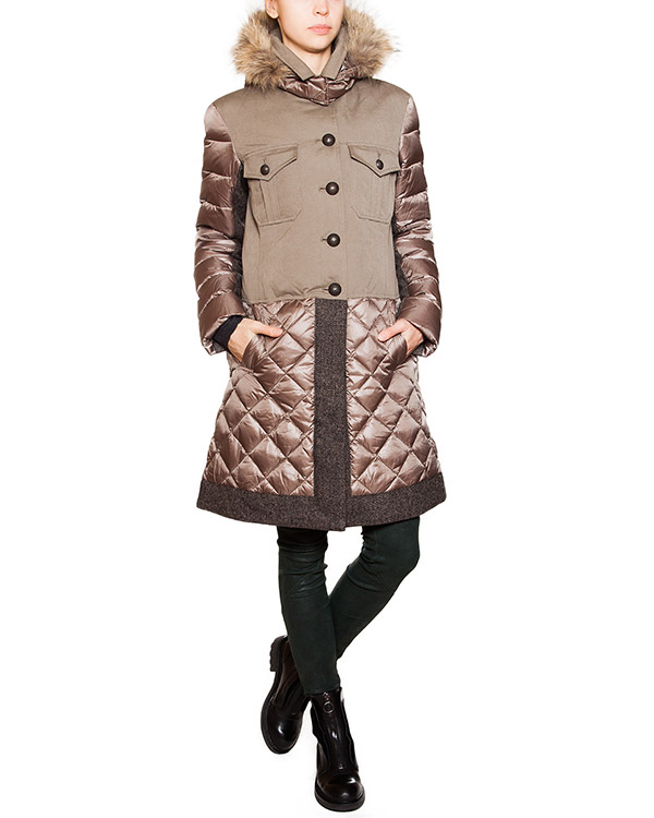 женская пуховик Bosideng, сезон: зима 2015/16. Купить за 14700 руб. | Фото 3