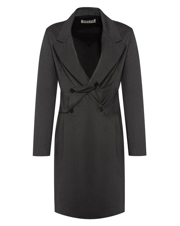 платье прямого силуэта из костюмной шерсти артикул AW17A1DR3 марки AALTO купить за 65500 руб.