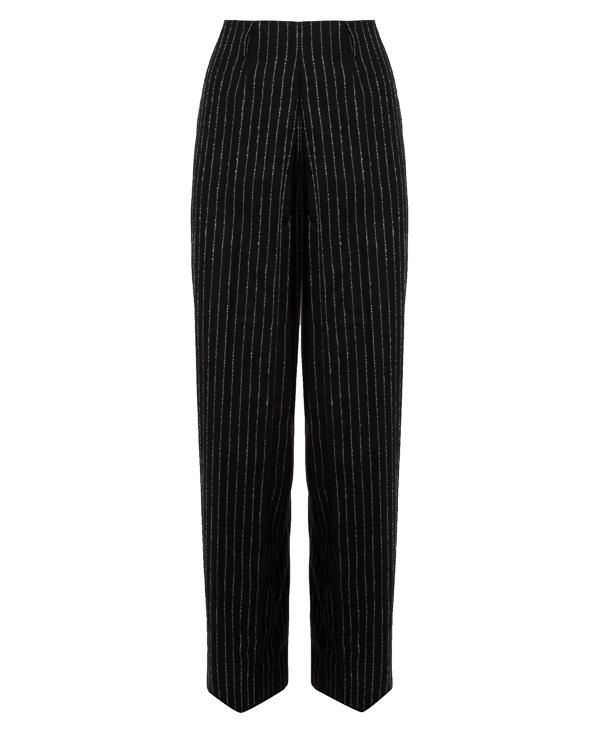 брюки в мужском стиле из плотной шерсти  артикул AW17A1TR3 марки AALTO купить за 31300 руб.