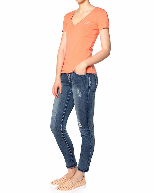 женская футболка ARMANI JEANS, сезон: лето 2015. Купить за 2900 руб. | Фото 3