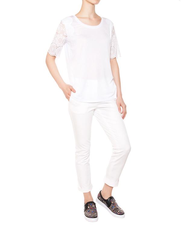 женская футболка ARMANI JEANS, сезон: лето 2015. Купить за 5500 руб. | Фото 3