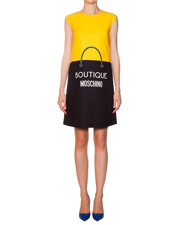 женская платье Moschino Boutique, сезон: зима 2015/16. Купить за 14500 руб. | Фото 1
