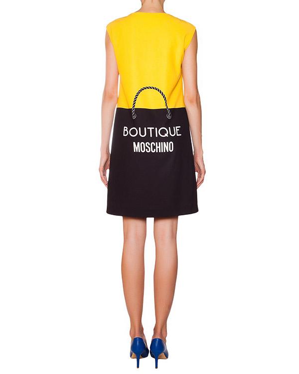 женская платье Moschino Boutique, сезон: зима 2015/16. Купить за 14500 руб. | Фото 3