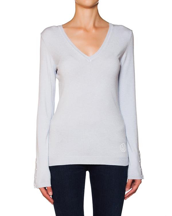 пуловер из мягкого трикотажа артикул B5W21 марки ARMANI JEANS купить за 6300 руб.