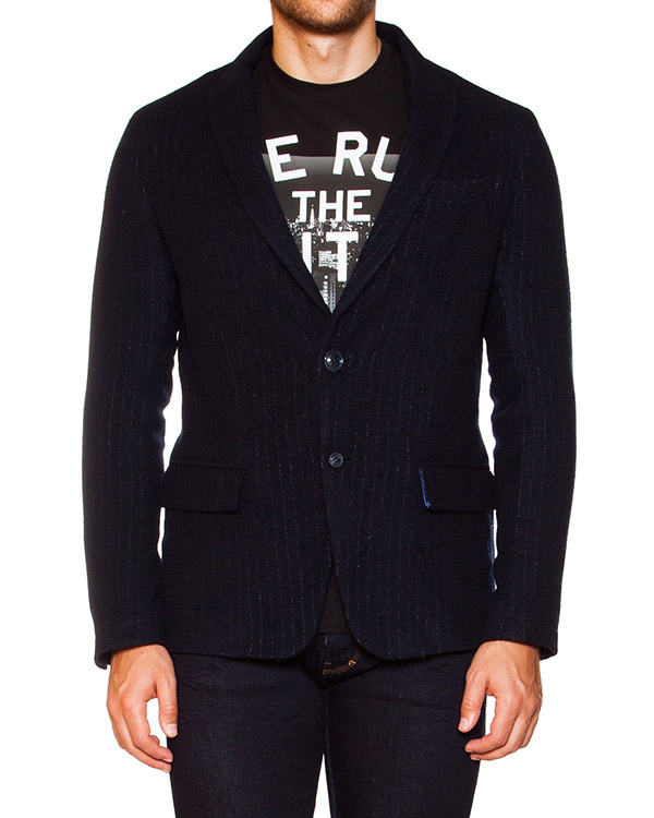 мужская пиджак ARMANI JEANS, сезон: зима 2015/16. Купить за 14600 руб. | Фото 1