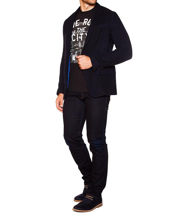 мужская пиджак ARMANI JEANS, сезон: зима 2015/16. Купить за 14600 руб. | Фото 3