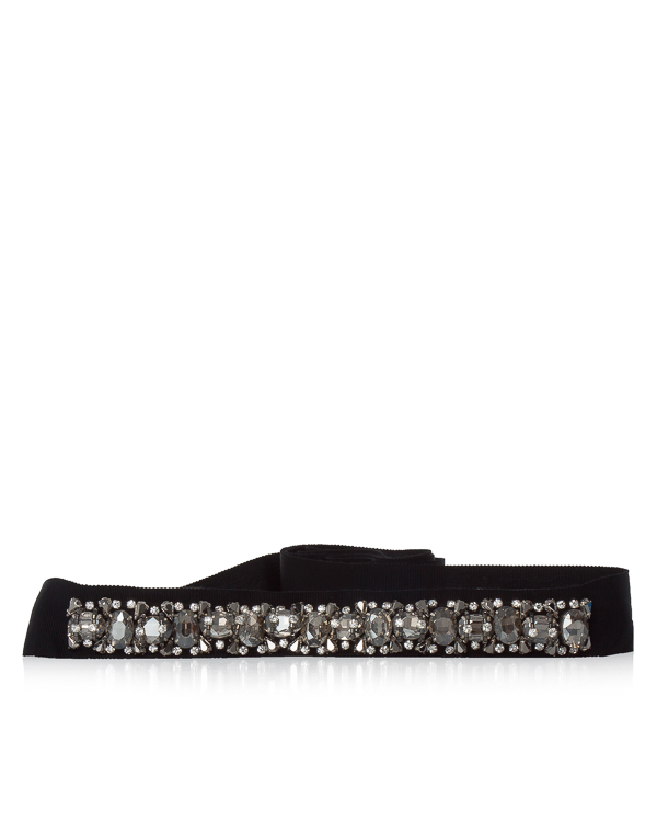 пояс из текстиля с кристаллами артикул B70180MCK марки Dice Kayek купить за 28600 руб.