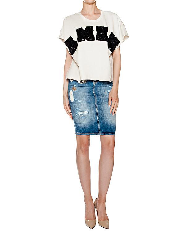 женская юбка Amen, сезон: лето 2016. Купить за 30400 руб. | Фото 3