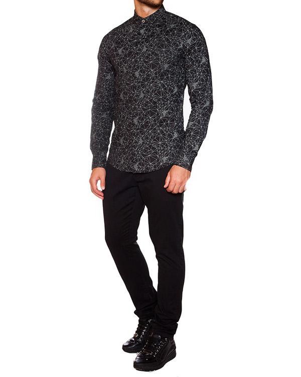 мужская рубашка ARMANI JEANS, сезон: зима 2015/16. Купить за 4100 руб.   Фото 3
