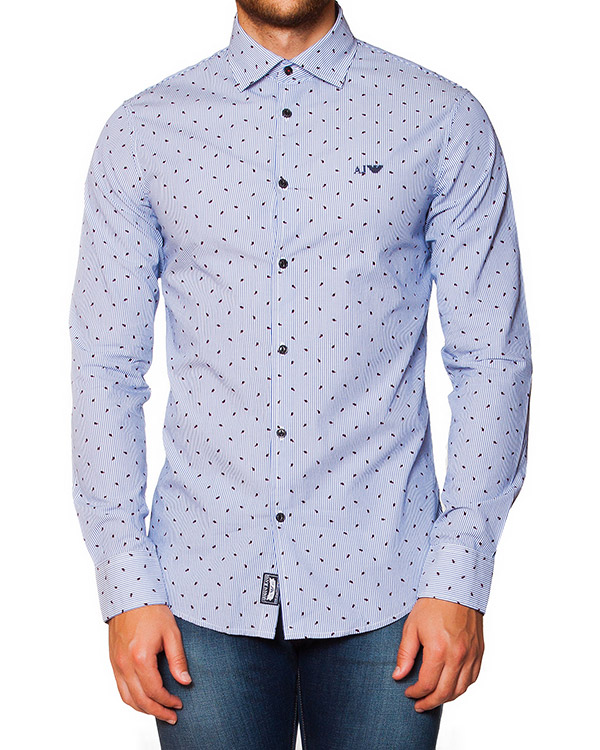 мужская рубашка ARMANI JEANS, сезон: зима 2015/16. Купить за 4200 руб. | Фото $i