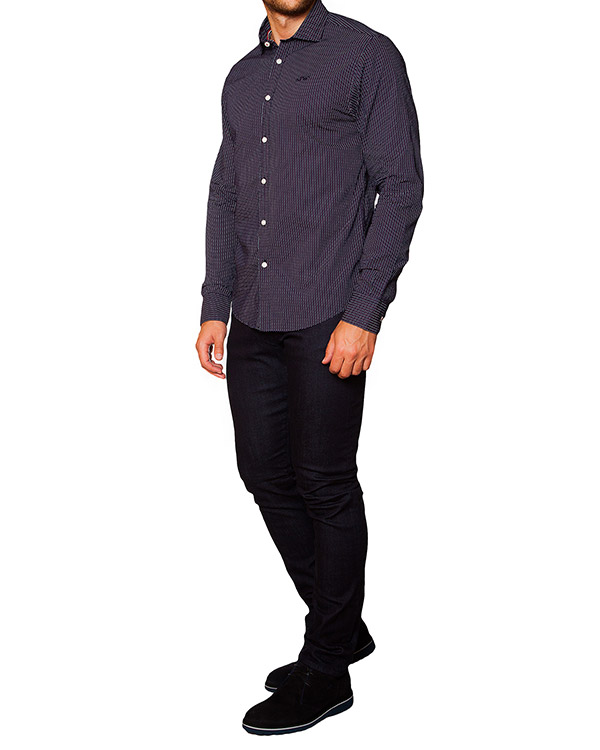 мужская рубашка ARMANI JEANS, сезон: зима 2015/16. Купить за 3800 руб. | Фото 3