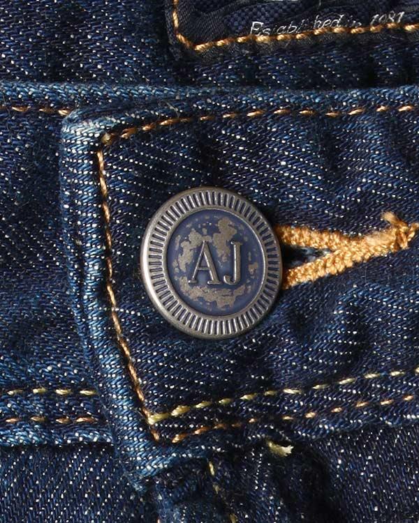 мужская джинсы ARMANI JEANS, сезон: зима 2015/16. Купить за 4800 руб. | Фото 4