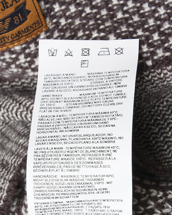 мужская джемпер ARMANI JEANS, сезон: зима 2015/16. Купить за 6300 руб. | Фото 5