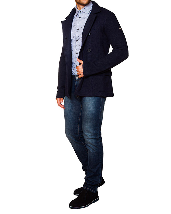 мужская жакет ARMANI JEANS, сезон: зима 2015/16. Купить за 18500 руб. | Фото 3