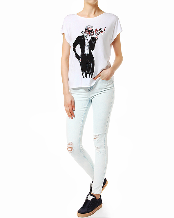 женская джинсы Black Orchid, сезон: лето 2014. Купить за 11100 руб. | Фото 3